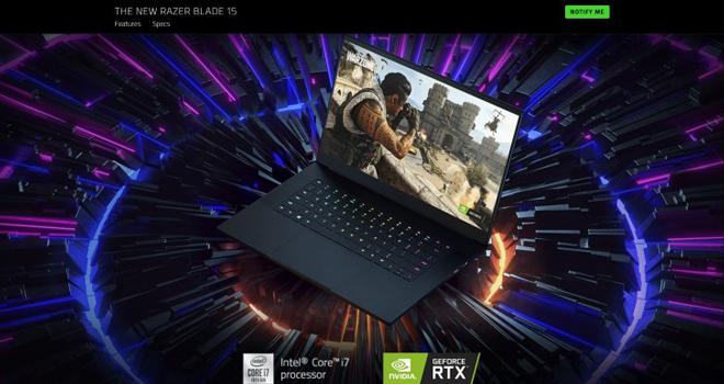 """Game thủ """"điên đảo"""" với laptop chơi game siêu ngầu Razer Blade 15"""