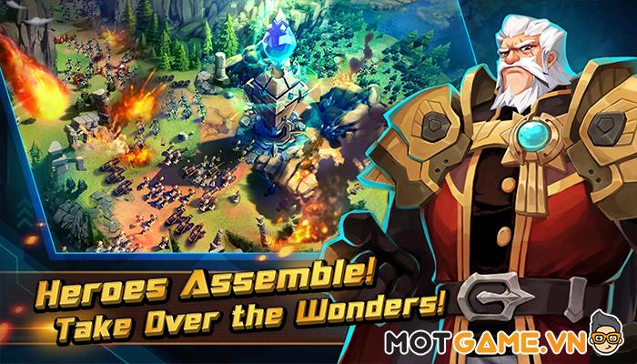 """Giant Monster War lột tả cuộc chiến giữa những Titan """"siêu to khổng lồ"""""""
