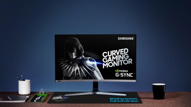 HOT: Samsung lần đầu tiên ra mắt màn hình cong chơi game CGR5 27 inch