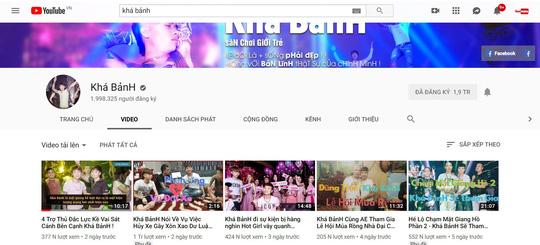 """Vì sao kênh YouTube Khá """"bảnh"""" bị gỡ nhưng các clip vẫn bị phát tán"""