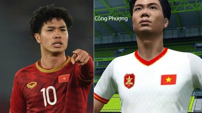 Không thể nhận ra Công Phượng trên game FIFA 19