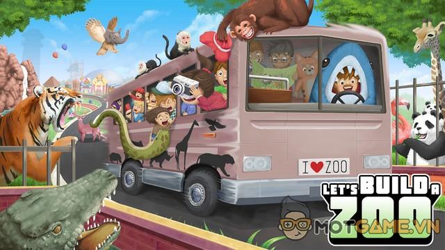 Let's Build a Zoo: Game quản lý sở thú cho phép thỏa sức sáng tạo muôn loài