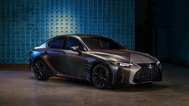 Lexus Gamers'IS mẫu xe độc đáo dành cho game thủ