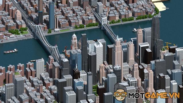 Game thủ Minecraft dành 3 năm để xây dựng thành phố cực kỳ ấn tượng