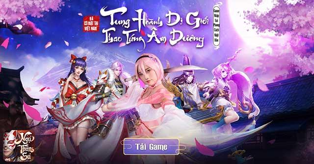 Ngự Thần Sư VTC, tựa game mobile lột tả nền văn hóa Nhật Bản trong từng chi tiết
