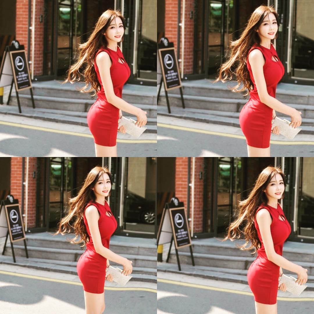 Người đẹp xứ Hàn chiếm spotlight trên phố là CEO kiêm người mẫu mặt xinh dáng chuẩn