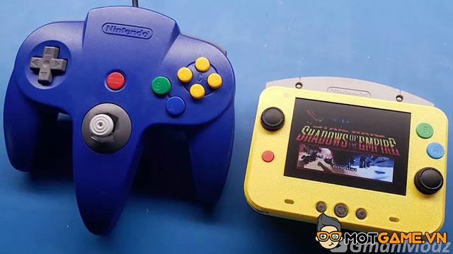 Dân chơi hệ modder độ lại Nintendo 64 kích thước còn nhỏ hơn tay cầm nguyên bản
