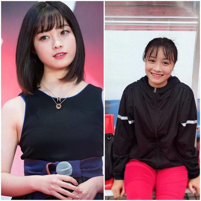 """Ảnh ngoài đời xinh xắn của hot girl tuyển bóng đá nữ VN là """"bản sao"""" của ca sỹ Nhật Bản"""