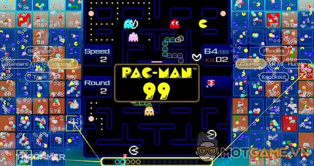 Pac-Man 99: Phiên bản battle royale của tựa game kinh điển