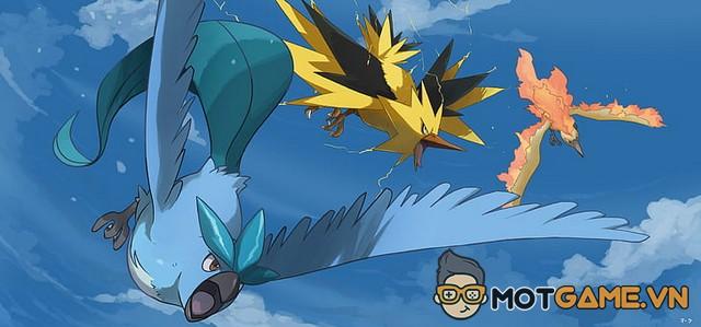 Pokemon: Articuno, Moltres, Zapdos sẽ xuất hiện ngoài đời thật?