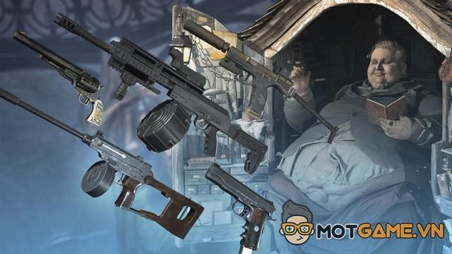 Resident Evil Village và những món vũ khí mạnh mẽ trong game