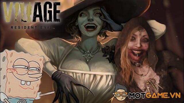 """Resident Evil Village: Dung lượng lớn như """"tâm hồn"""" của Mommy Vampire"""