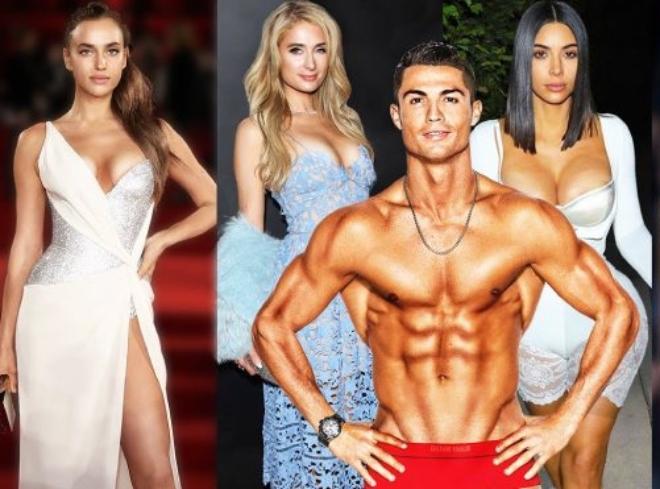 Ronaldo cặp kè toàn mỹ nhân siêu giàu, kiếm tiền gấp 90 lần bạn gái hot girl hiện tại