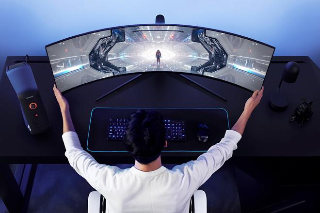 Samsung trình làng dòng màn hình chơi game Odyssey mới tại CES 2020
