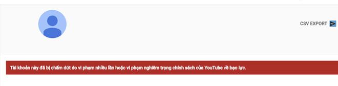 """Sau Khá Bảnh, đây là kết cục kênh YouTube của """"thánh chửi"""" Dương Minh Tuyền"""