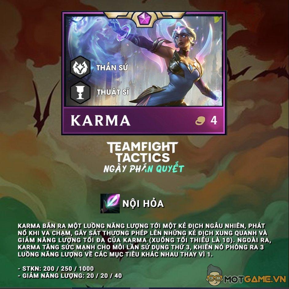 ĐTCL: Quẩy nhiệt với Karma súng máy, spam chiêu liên tục