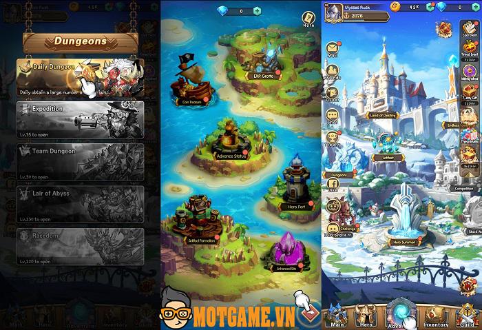 Brave Dungeon – Game chiến thuật mang phong cách hắc ám rất độc đáo