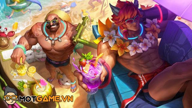 LMHT: Sett cùng Braum là hai cái tên sẽ sở hữu trang phục Tiệc Bể Bơi