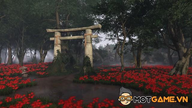 Cộng đồng Ghost of Tsushima chung tay trùng tu đền Watatsumi