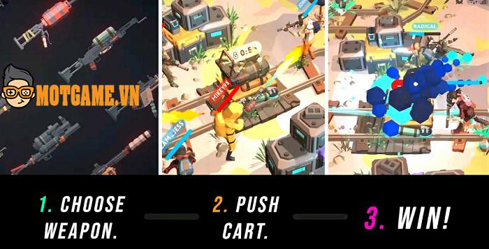 Underdogs – Game hành động kịch tính với lối chiến đấu theo đội tam hợp