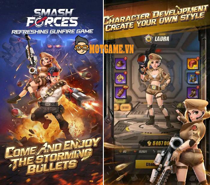 Smash Forces – Game bắn súng tốc độ cao với đồ họa 3D thực tế ảo