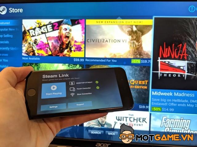 Steam Remote Play Together mở rộng khả năng truy cập cho người dùng