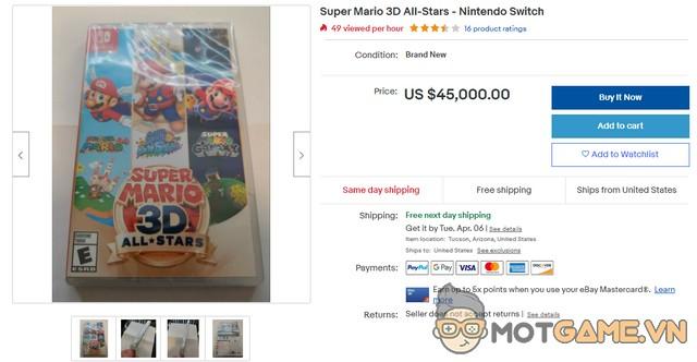 """Nhờ ơn Nintendo, """"gian thương"""" xuất hiện nhan nhản trên Ebay"""