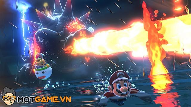 Nintendo hé lộ cơ chế co-op của Super Mario 3D World + Bowser's Fury