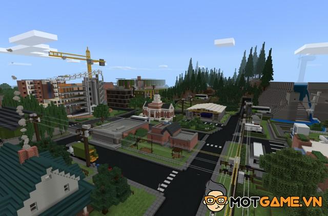 Minecraft: Education Edition giới thiệu bài học mới trong Sustainability City