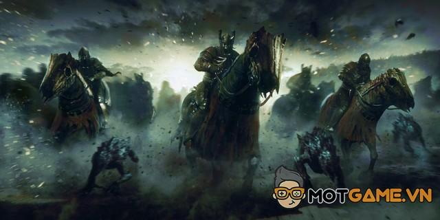 Phim The Witcher hé lộ hình ảnh đầu tiên về quân đoàn Wild Hunt?