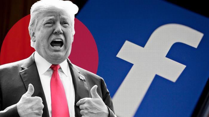 Những người định đoạt 'số phận' của ông Trump trên Facebook