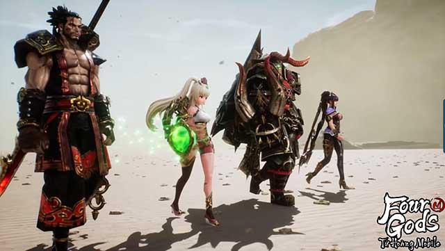 Tứ Hoàng Mobile: Bom tấn nhập vai xứ Hàn có gì thú vị mà khiến cả làng game sôi sục?
