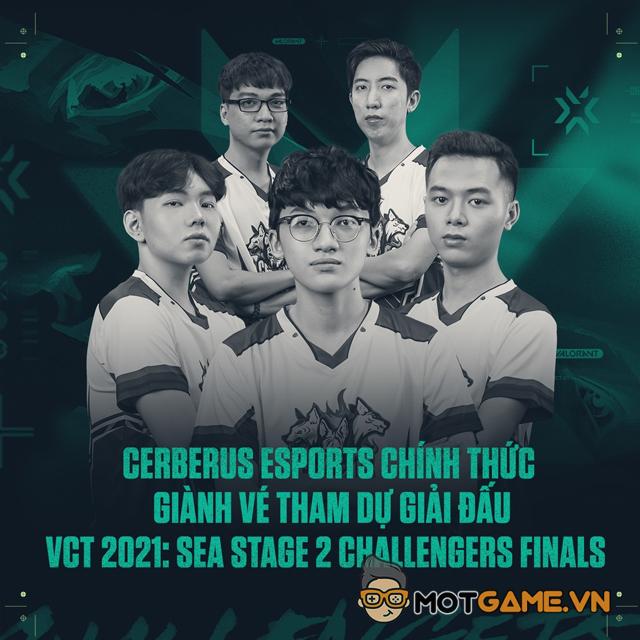 Valorant: Quán quân VCT Việt Nam 2021 gọi tên Cerberus Esport