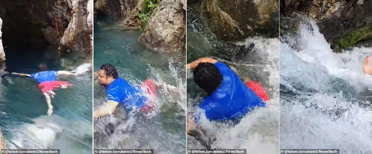 Video: Bất chấp nguy hiểm quay video TikTok, người đàn ông bị cuốn trôi và kết cục đau đớn