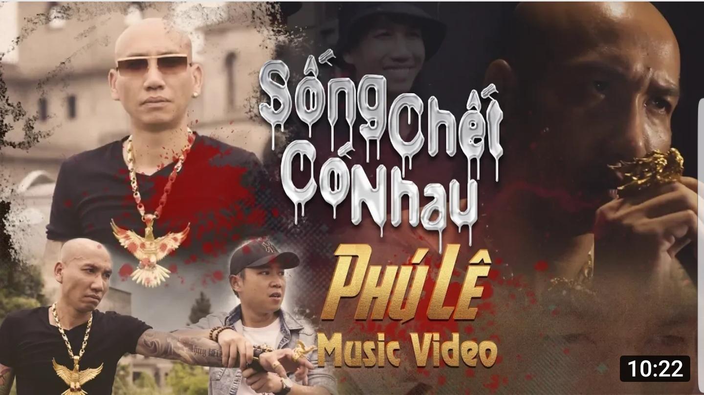 Video của Trung ruồi bất ngờ vượt mặt MV ca nhạc của 'giang hồ' Phú Lê trên Youtube