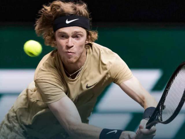 Video tennis Rublev – Tsitsipas: Bẻ game bất thành, loạt tie-break chóng vánh