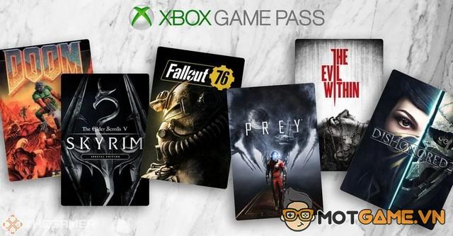 20 tựa game của Bethesda sẽ góp mặt trong gói Xbox Game Pass