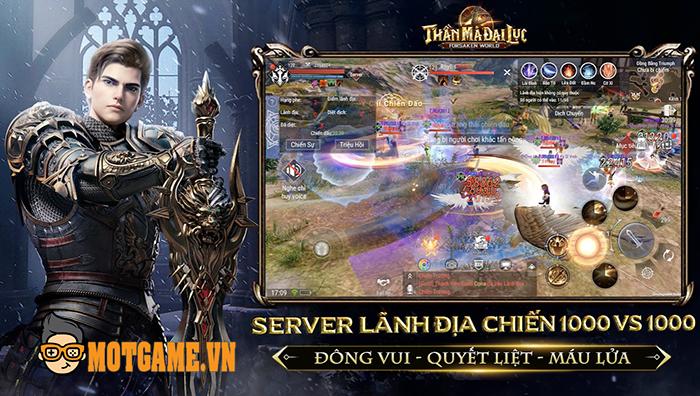 Game nhập vai chủ đề fantasy Forsaken World: Thần Ma Đại Lục về Việt Nam