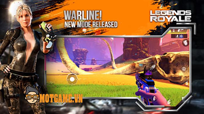Legends Royale – Tựa game bắn súng hành động thuần chất FPS cho người dùng di động