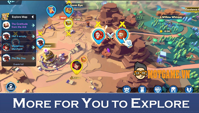 Ark Legends – Game chiến thuật khiêu chiến tự do trên toàn bản đồ