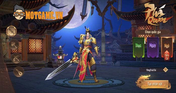 GOSU chuẩn bị ra mắt game mới Chiến Long Tam Quốc Mobile