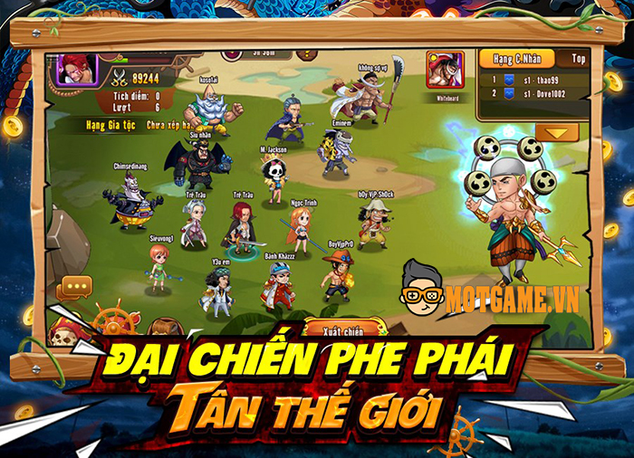 Game mới Đảo Kho Báu – Bá Vương Thức Tỉnh cập bến làng game Việt