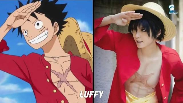 Khi các nhân vật trong One Piece bước ra ngoài đời thật tuyệt vời không khác gì trong anime
