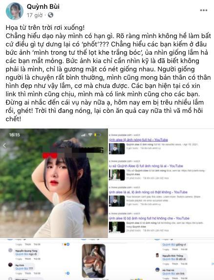 """""""Dính phốt"""" khoe thân phản cảm, nữ streamer bức xúc phản pháo netizen: """"Mình mà có link mình cũng cho các bạn"""""""