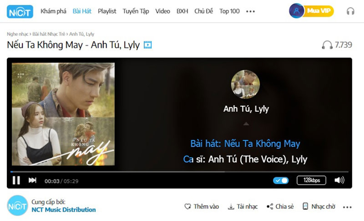Anh Tú trở lại đường đua Vpop bằng bản tình ca kết hợp cùng Lyly