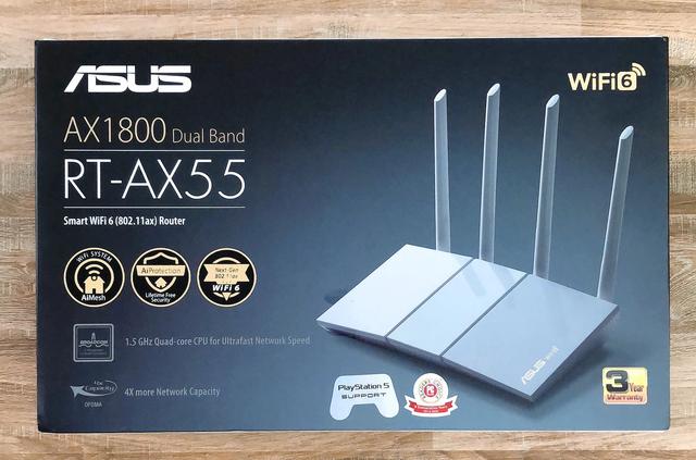 """Router ASUS RT-AX55: Công nghệ Wi-Fi 6 – """"Cặp đôi song sát cực mạnh"""" cùng siêu phẩm PS5"""