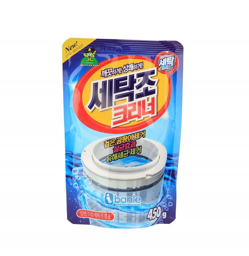 Top 8 Sản phẩm giúp vệ sinh lồng giặt hiệu quả nhất hiện nay