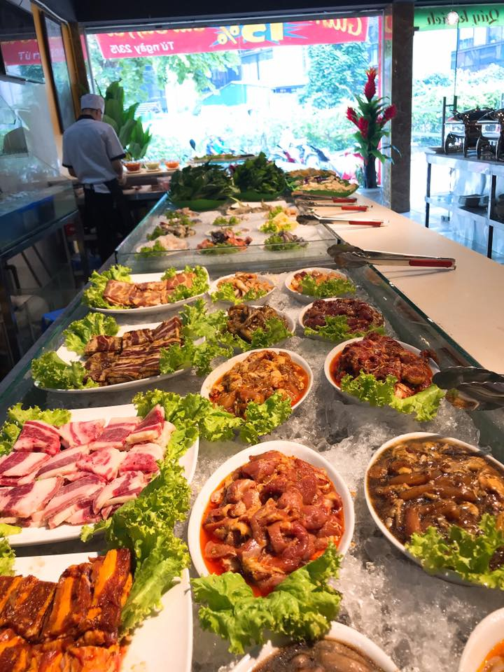 Top 10 Nhà hàng buffet ngon, nổi tiếng quận Nam Từ Liêm, Hà Nội