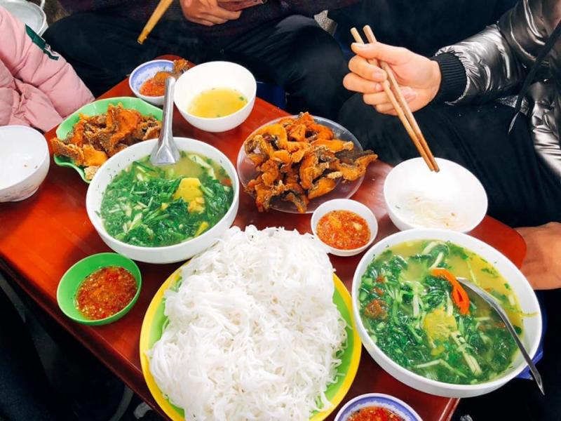Top 10 Quán bún cá chấm ngon nhất tại Hà Nội