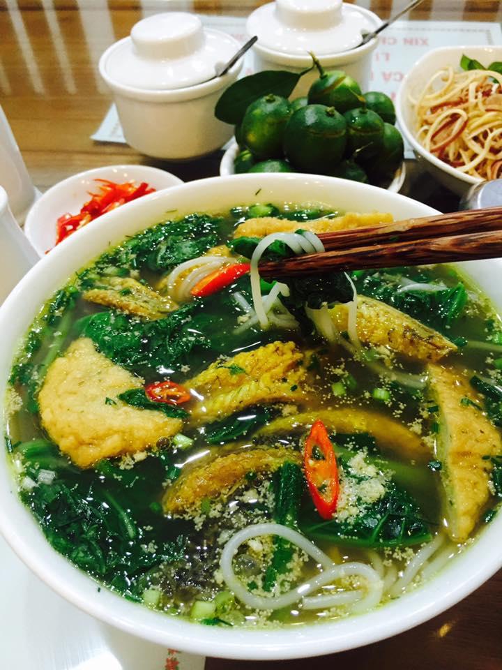 Top 10 Quán bún cá ngon nhất ở Cầu Giấy, Hà Nội